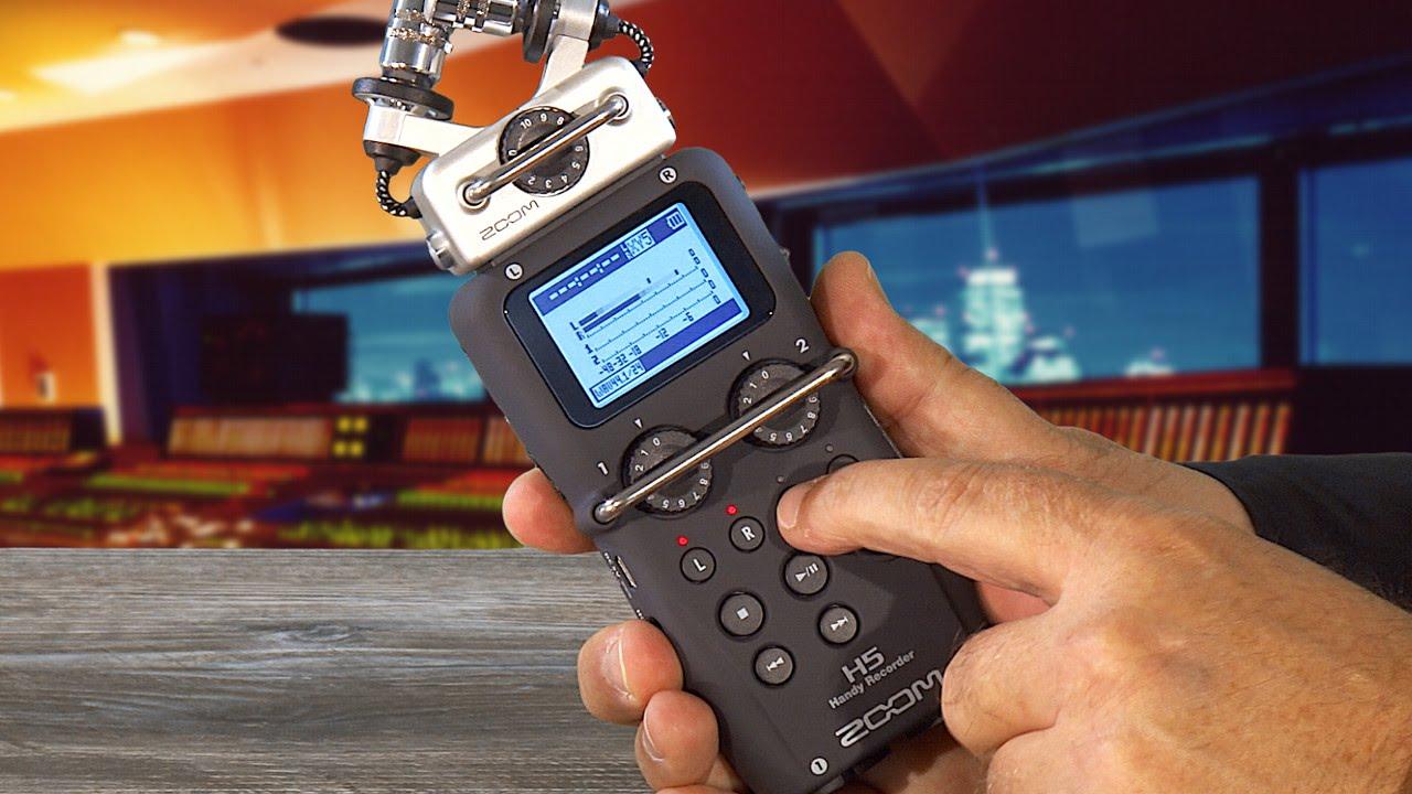 ZOOM H5 Handy Recorder mit Wechselkapsel-System