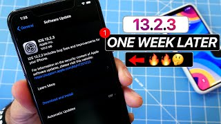 iOS 13.2.3 One Week Later - Don't Update Yet ! Video