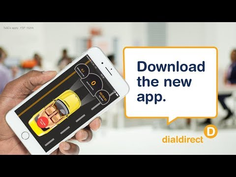 Download the new Dialdirect Insurance App