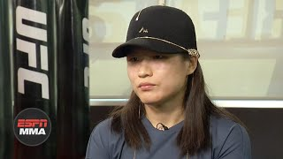 Zhang Weili describes journey from China to United States for UFC 248 | ESPN MMA
