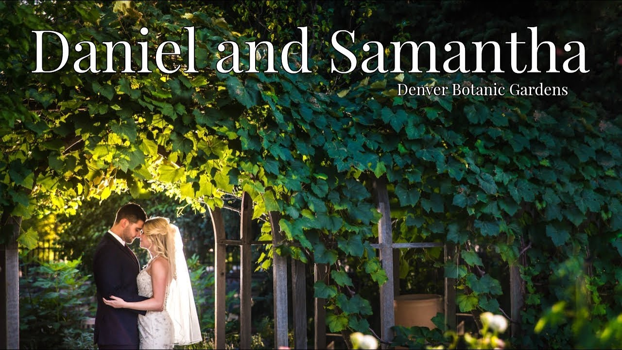 Denver Botanic Garden Wedding | Denver Colorado Photographer | Daniel And  Samantha