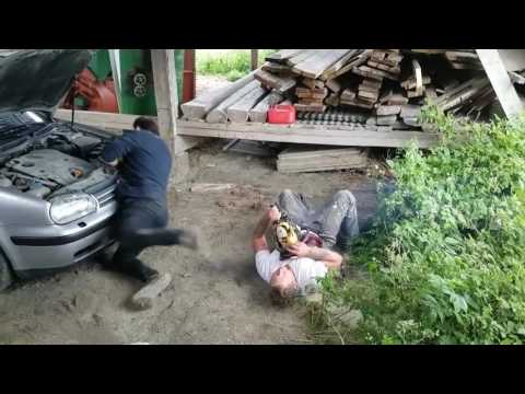 Chainsaw Prank Causes Friend to Faint