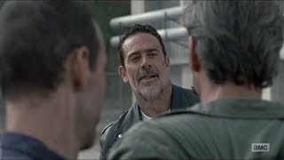 Simon Is Caught Red Handed By Negan~ The Walking Dead 8x15