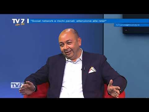 Tv7 con Voi del 21/5/2018 - Social network e rischi penali (1 di 3)