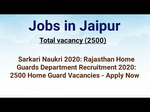 jobs-in-jaipur-10th-pass-government-vacancy-apply-now-all-students