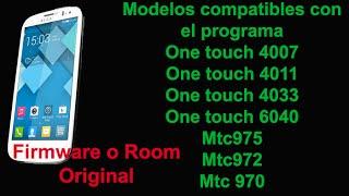 firmware o room alcatel 4033 y otros equipos ver lista