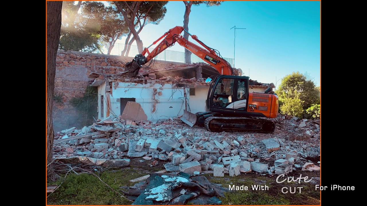 Demolizione Scala In Cemento Armato micropali di 250
