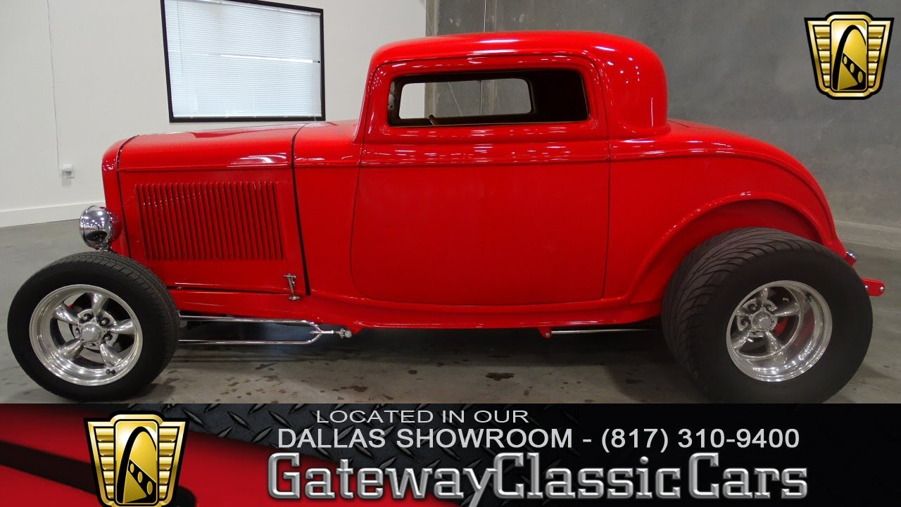 Stock #198 1932 Ford Coupe Gateway Classic Cars of Dallas - YouTube