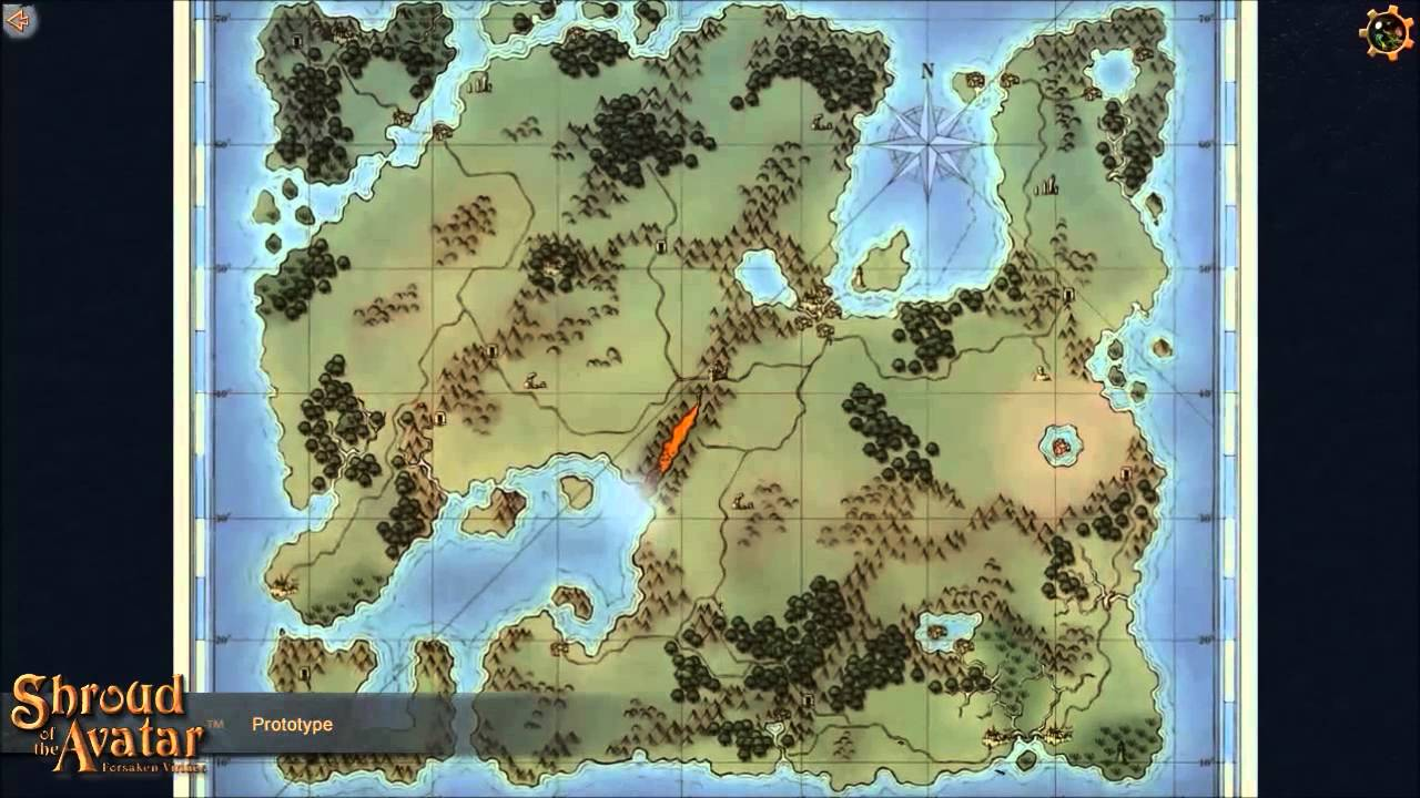 Shroud Of The Avatar World Map.Shroud Of The Avatar Map Evolution Youtube