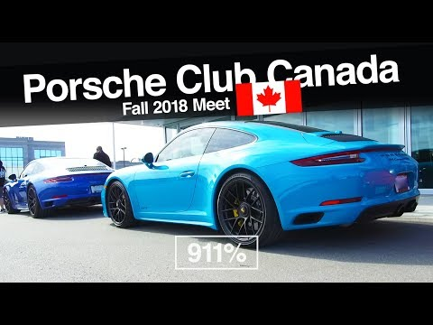 Porsche Club Canada Fall Meet At Pfaff | EP071