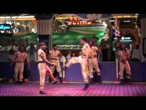 African Acrobat at CircusCircus Casino Hotel In Las Vegas