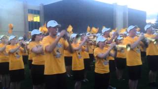 University of Wyoming Marching Band Performs Ragtime Cowboy Joe