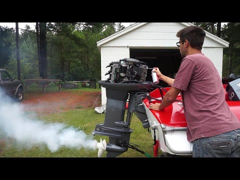 Engine Fogging for Long Term or Winter Storage (Outboard Boat) - Tips from Tom