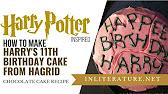 Harry Potters Geburtstagstorte Rezept Youtube