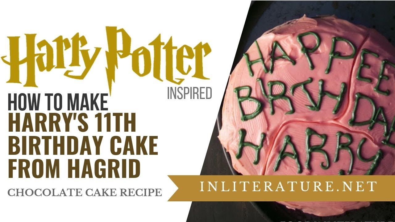 Harry Potters Chocolate Cake From Hagrid Food In Literature Youtube