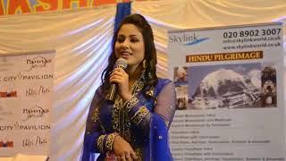 Hina khan(akshara) singing O kanha ab to murli ki