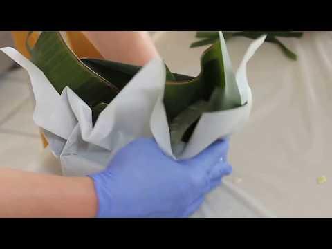 GÓI BÁNH CHƯNG BẰNG Giấy Nướng (Parchment Paper) -- How To Make BÁNH CHƯNG
