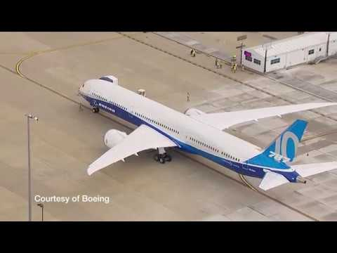 First look inside the Boeing 787-10 Dreamliner