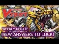Cardfight!! Vanguard Weekly Update - New Answers to Lock! - 3rd November 2017