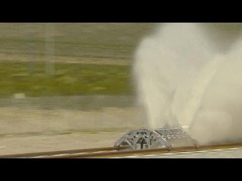 Hyperloop marks milestone in supersonic-speed travel
