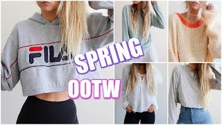 Winter to Spring Transition // OOTW!
