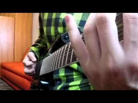 Black Tongue - coma ( guitar cover )