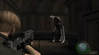 Resident Evil 4 - Chapter 4-1 09 Garrador Corridor