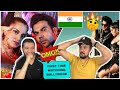 """Friend watching First Time BOLLYWOOD MUSIC - SAAHO """"BAD BOY"""" vs. """"The Wakhra Song"""" - German Reaction"""