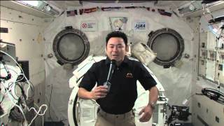 Space Station Crew Member Discusses Life in Space with Japanese Prime Minister