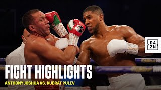 HIGHLIGHTS | Anthony Joshua vs. Kubrat Pulev