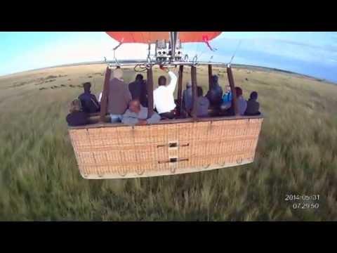 Balloon Safari over the Maasai Mara, Kenya