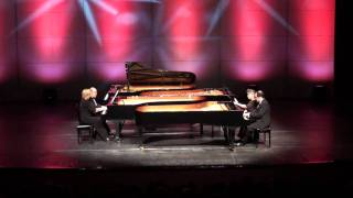 12 Pianists: Aram Khatchaturian Sabre Dance 2 pianos 8 hands