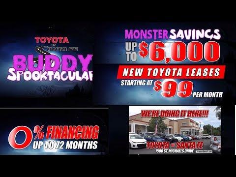 Toyota Spooktacular New Car Deals at Toyota of Santa Fe | New Mexico Toyota Dealer