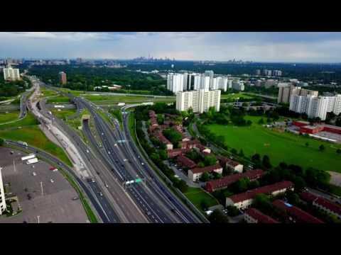 Aerial Drone Footage of North York - DJI Maci PRO