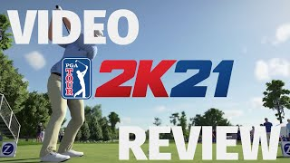 PGA Tour 2k21 Review - In The Drink (Video Game Video Review)