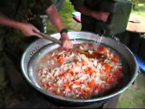 Japan Ground Self-Defense Force Cooking Curry