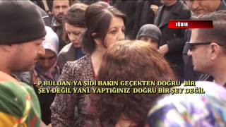 PERVİN BULDAN POLİS TARTISMASI