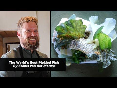 The World's Best Pickled Fish By Kobus Van Der Merwe (Wolfgat) | Woolworths TASTE Magazine