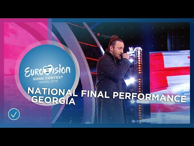 Oto Nemsadze - Keep On Going - Georgia 🇬🇪 - National Final Performance - Eurovision 2019