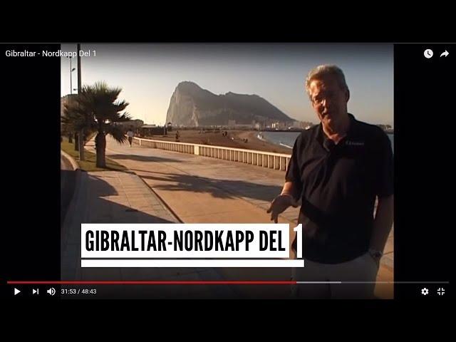 Nordkapp - Campingtur til Nordkapp 2002 (Gibraltar - Nordkapp Del 1)