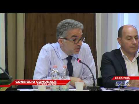 CONSIGLIO COMUNALE VITTORIO VENETO - Seduta del 28.06.2016