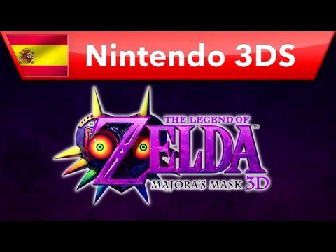 The Legend of Zelda: Majora's Mask 3D - Tráiler presentación (Nintendo 3DS)