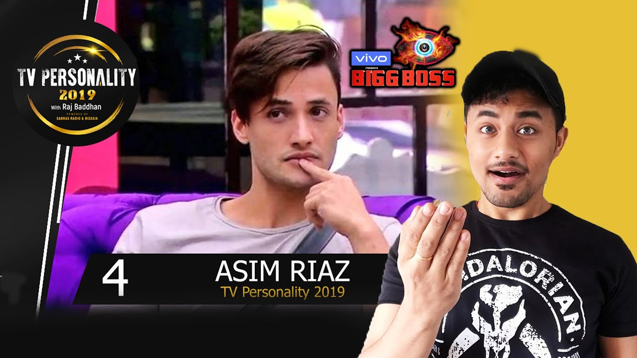 Bigg Boss 13 | Asim Riaz CREATES Record | NO.4 Position On TV Personality 2019 | Indian TV Poll