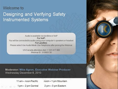 Designing and Verifying Safety Instrumented Systems
