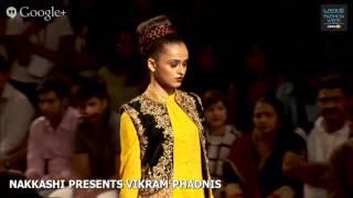 NAKKASHI PRESENTS  VIKRAM PHADNIS - LAKME FASHION WEEK WINTER/FESTIVE 2014