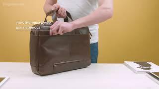 Обзор сумки для ноутбука Samsonit West Harbor Bailhandle 2C 15,6 Brown