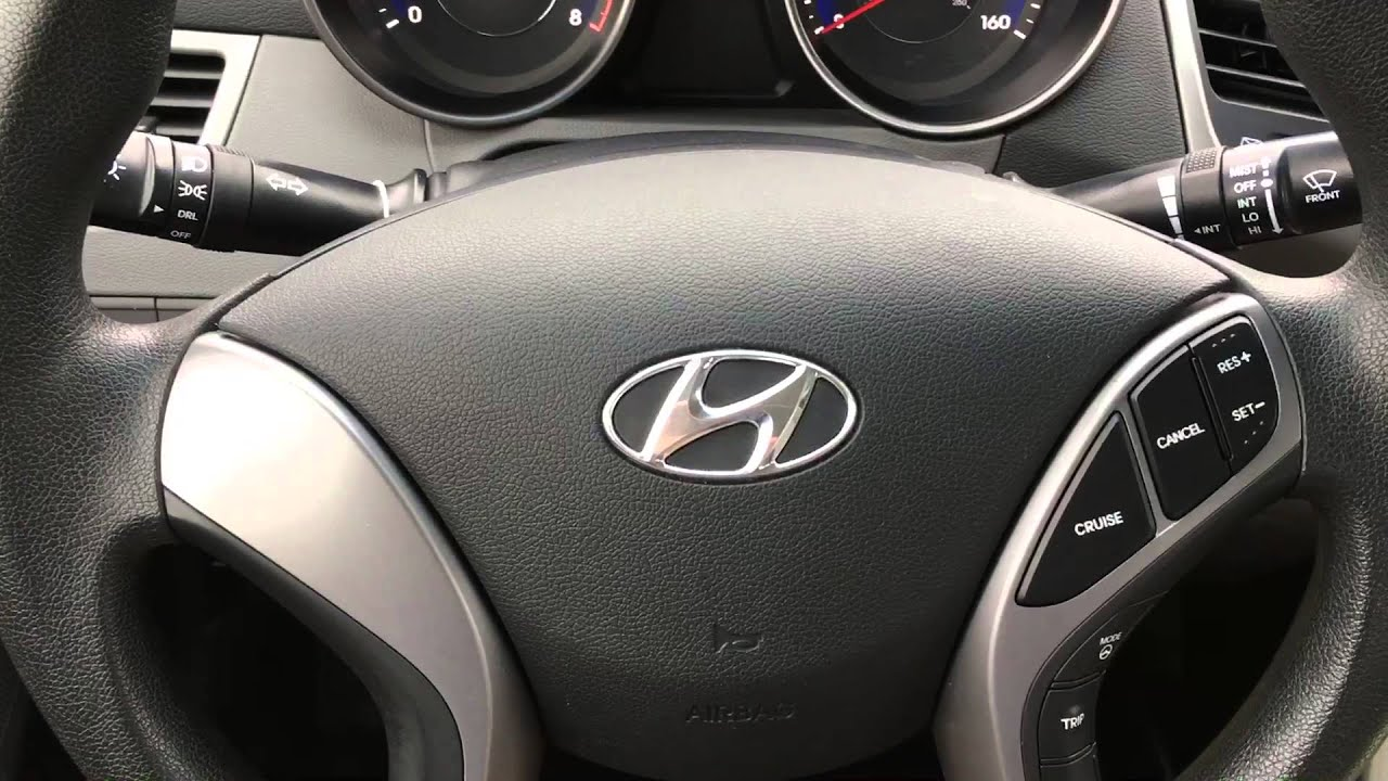 turn on the active Eco system in a 2015 Hyundai Elantra - YouTube