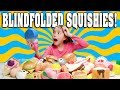 BLINDFOLDED SQUISHY CHALLENGE 2 My Giant Squishy Collection mp3