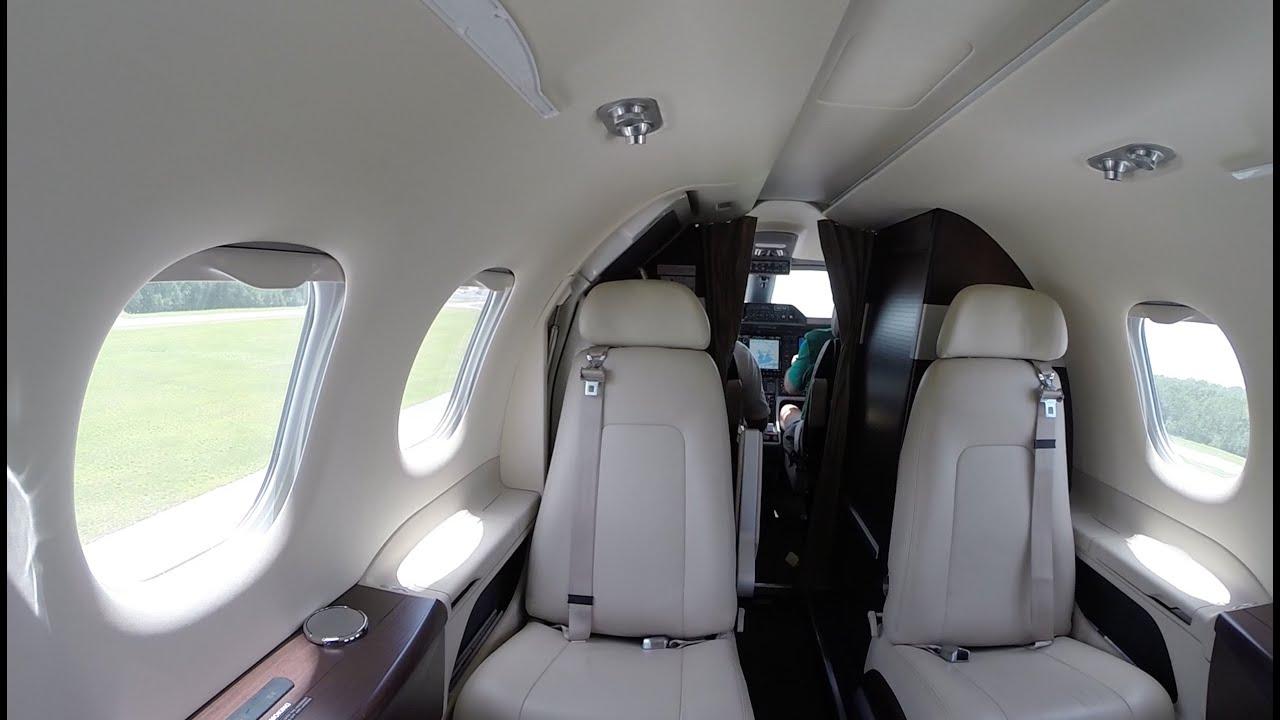 Phenom 100 Cabin View Landing Pensacola Fl Kpns