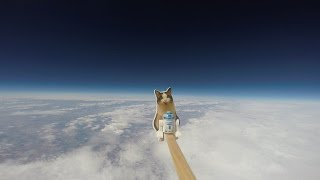 [HD] Loki Lego Launcher - High altitude balloon
